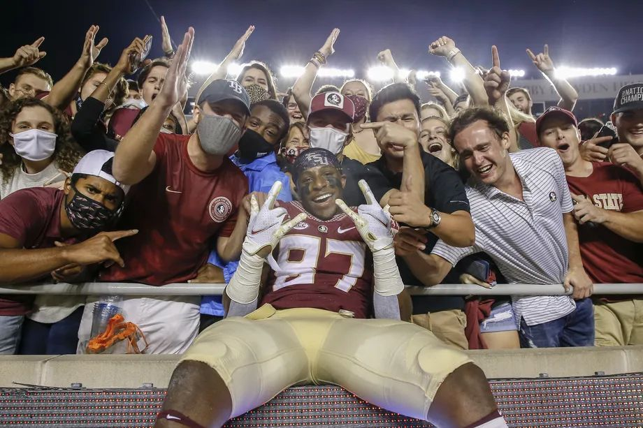 """FSU tight end Camm McDonald """"humbled"""" by chance to earn money off name"""